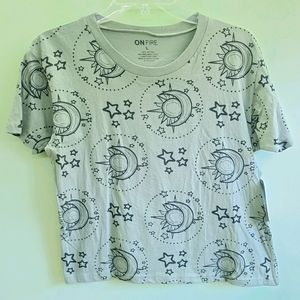 NWT ON FIRE sage astrology tee size Large